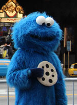 Cookie Monster Hollywood Blvd