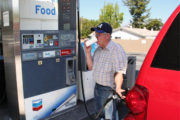 Man Angry At Los Angeles Gas Prices