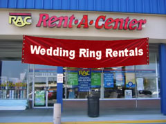 Rent-A-Center Offers Wedding Ring Leases