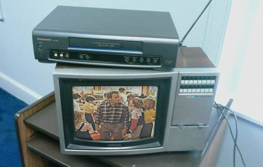 VCR Stolen During Los Angeles Riots